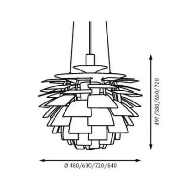 ph artichoke suspension lamp louis poulsen. Black Bedroom Furniture Sets. Home Design Ideas