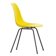 Vitra - Eames Plastic Side Chair DSX Gestell schwarz