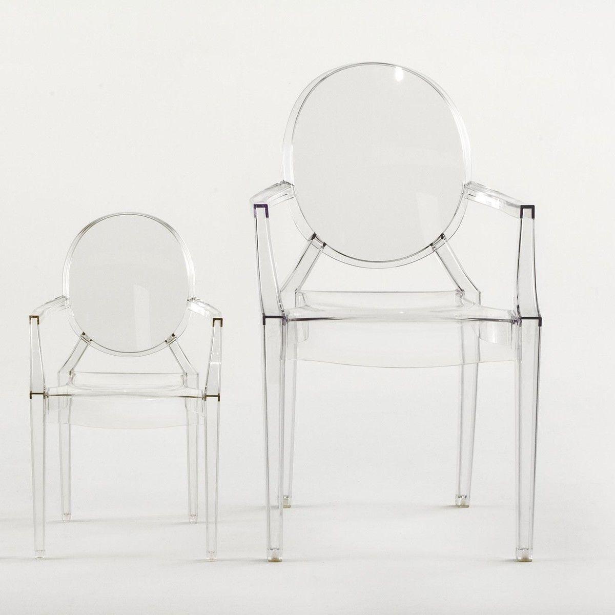 louis ghost armchair set of 4 kartell. Black Bedroom Furniture Sets. Home Design Ideas