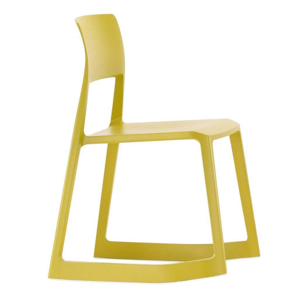 ... Vitra   Tip Ton Rocking Chair   Mustard Yellow ...