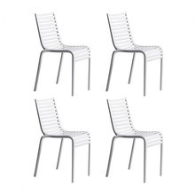 Driade - Pip-e - Lot de 4 chaises