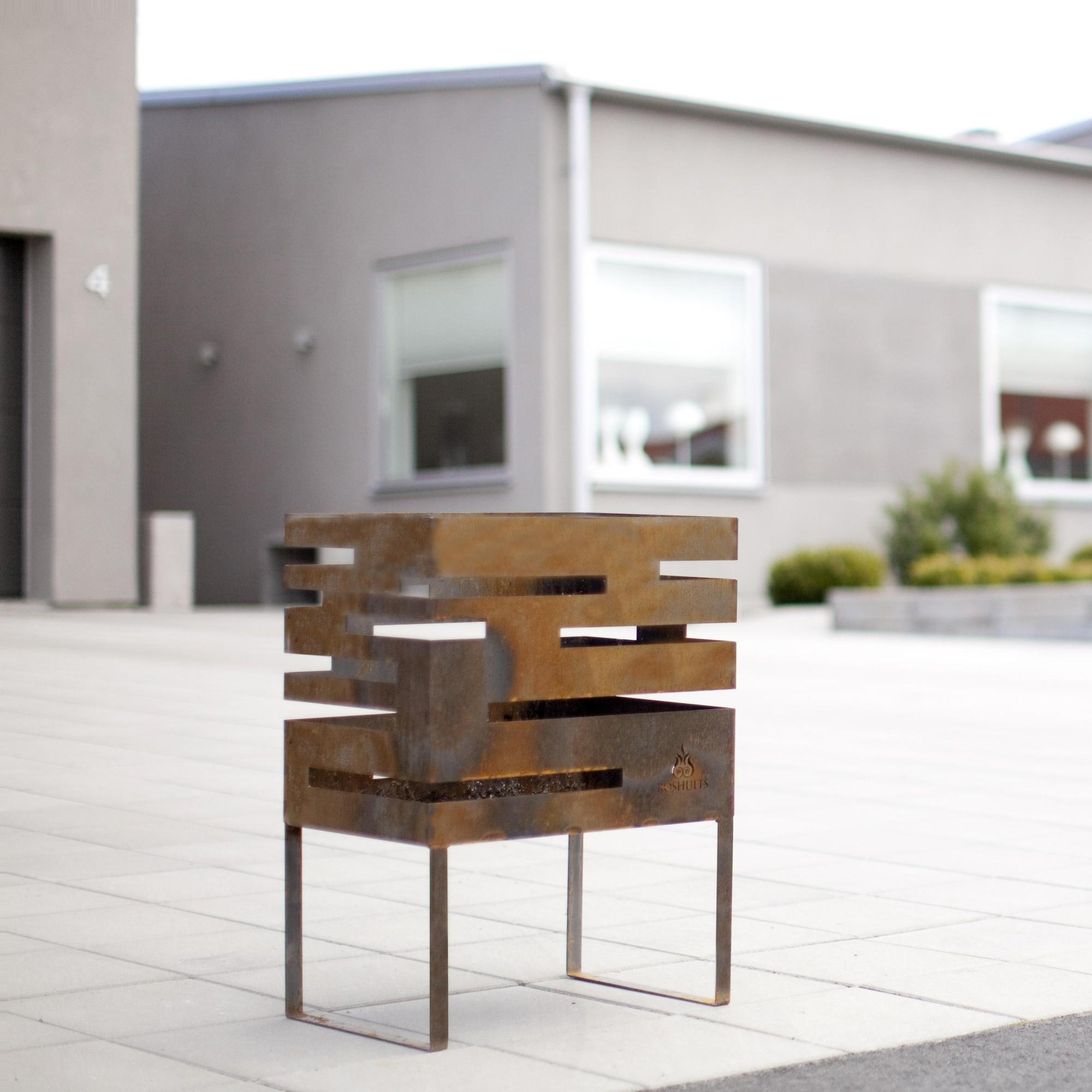 Röshults Fire Basket Urban - Brasero de jardin   AmbienteDirect