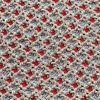GAN - Garden Layers Small Roll Gofre Kissen - blau/Handwebstuhl/LxBxH 78x25x25cm