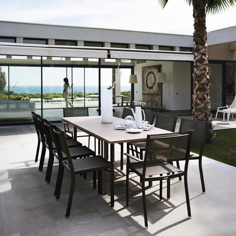 Gartenmobel Polyrattan Dedon : Costa Gartentisch rechteckig  Fermob  AmbienteDirectcom
