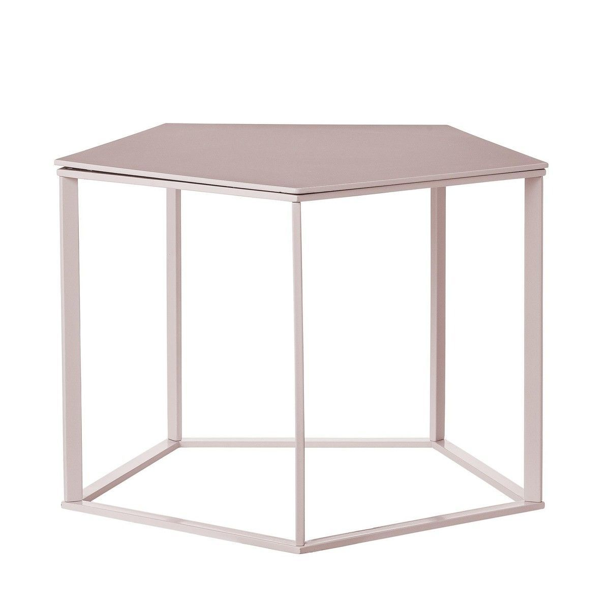 Charming Bloomingville   Hex Side Table   Nude/57x54x41cm