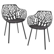 Fast - Forest Outdoor Armchair Set Of 2