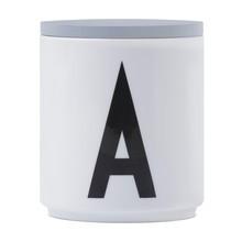 Design Letters - Design Letters Deckel für Porzellanbecher