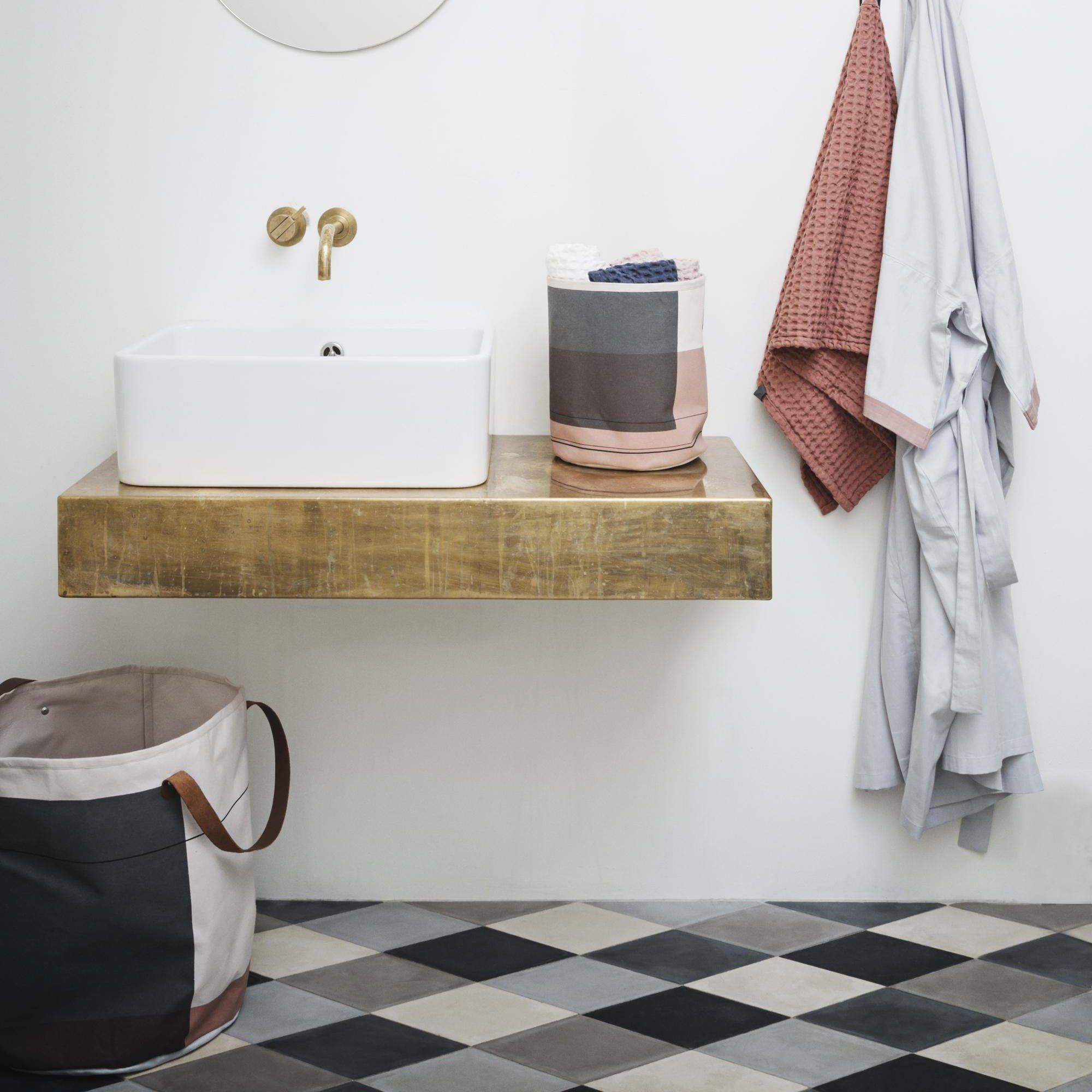 ... Ferm LIVING   Colour Block Korb
