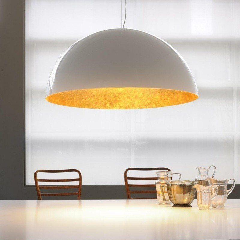 Oluce sonora 490 or suspension lamp
