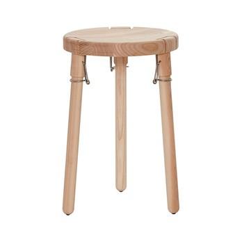 Andersen Furniture - Andersen Furniture U1 Hocker - Esche/Ø30 x H46,5 cm