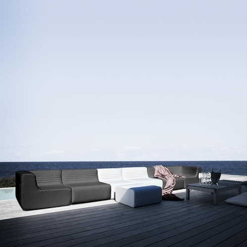 Softline - Loft Outdoor Sofa Mittelmodul
