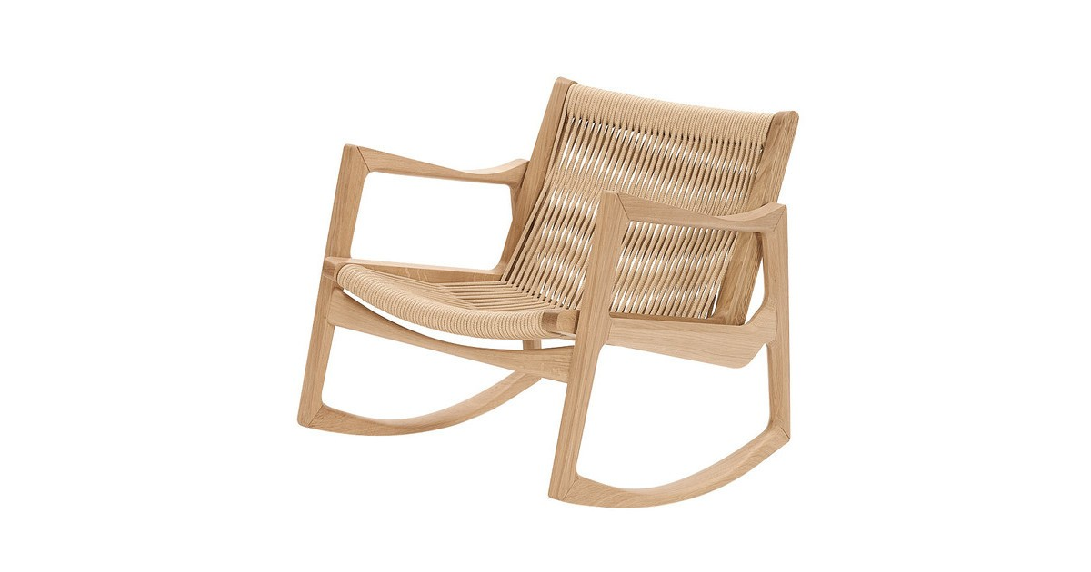 Picture of: Classicon Euvira Rocking Chair Ambientedirect
