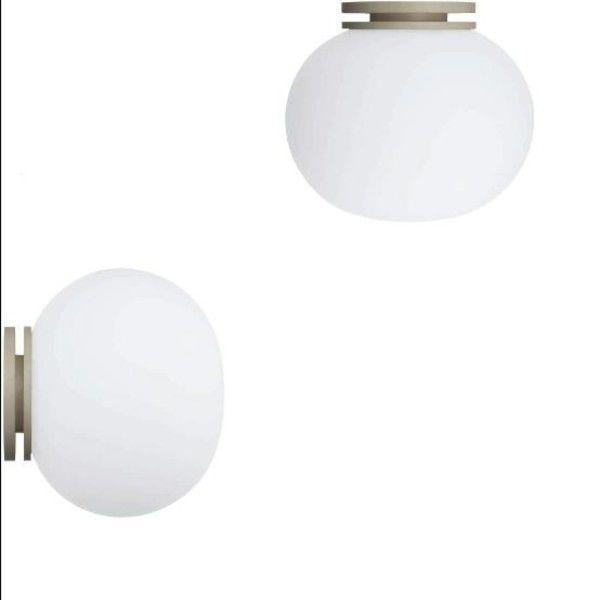 Mini Glo Ball C/W Wall/Ceiling Lamp | Flos | AmbienteDirect.com