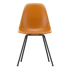 Vitra - Eames Fiberglass Side Chair DSX zwart