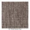 Innovation - Buri Styletto Klappsofa - grau/Stoff 521 Mixed Dance Grey/Liegefläche 115x200cm/Gestell schwarz/Beine dunkles Holz