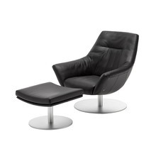 Rolf Benz - Rolf Benz 566 Easy Chair With Stool