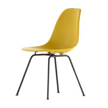 Vitra - Vitra Eames Plastic Side Chair DSX Gestell schwarz