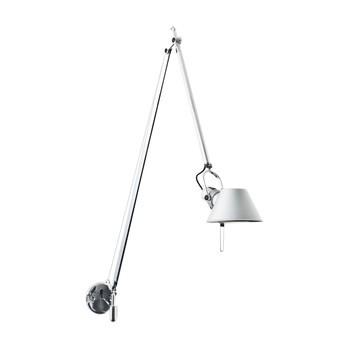 Artemide - Tolomeo LED Braccio Parete Wandleuchte - aluminium/eloxiert/dimmbar/3000K/450lm/LxBxH 83x15x103cm