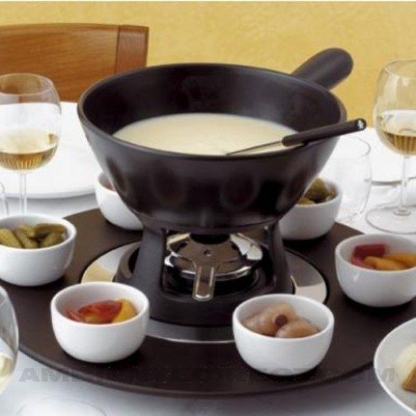 mami fondue set alessi. Black Bedroom Furniture Sets. Home Design Ideas