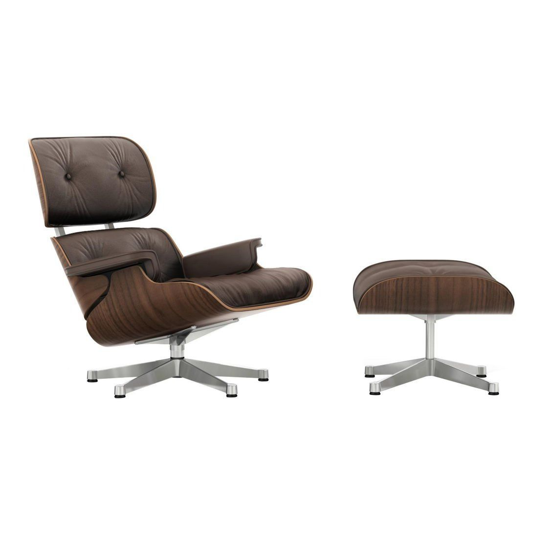 ... Eames Lounge Chair Sessel Ottoman Vitra ...