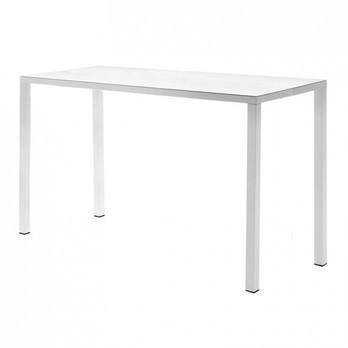 Fast - Easy Bartisch/Gartentisch - weiß/LxBxH 140x70x110cm/für Innen- und Außenbereich geeignet