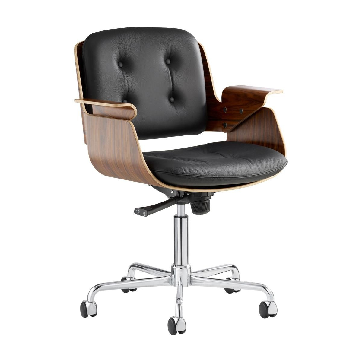 Chair With Wheels >> Tecta D49 Desk Chair With Wheels
