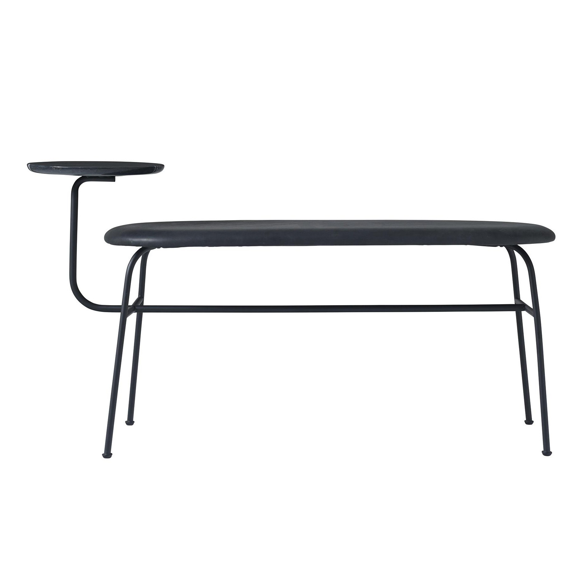 Menu Afteroom Bench With Side Table Ambientedirect