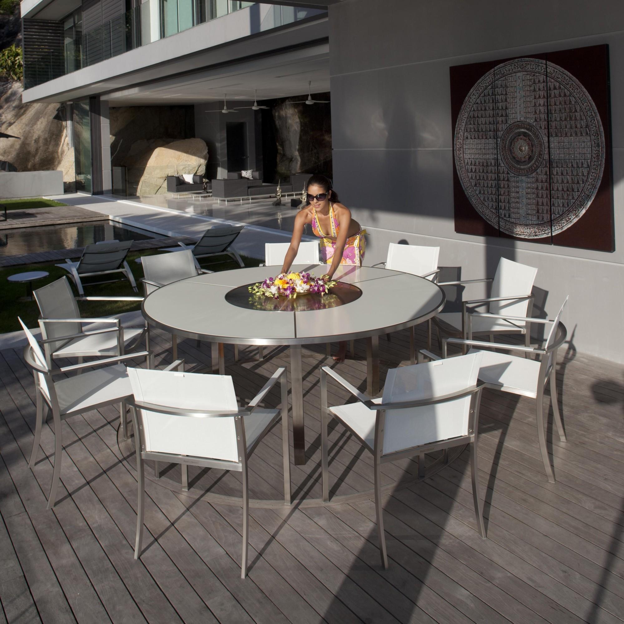 O-Zon - Table de Jardin ronde Ø160