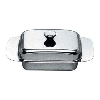 Alessi - Alessi Butterdose - edelstahl/glänzend poliert/LxB 19x11cm