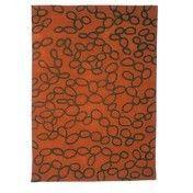 Nanimarquina - Ovo Teppich - orange/Neuseeland-Wolle/200x300cm