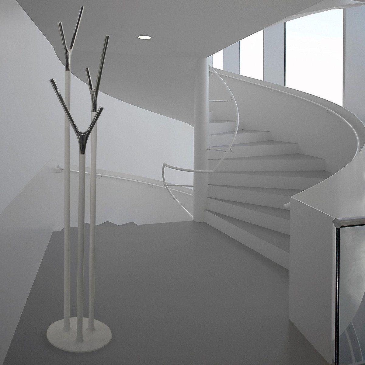 Kleiderständer Edelstahl Design wishbone kleiderständer ambientedirect com