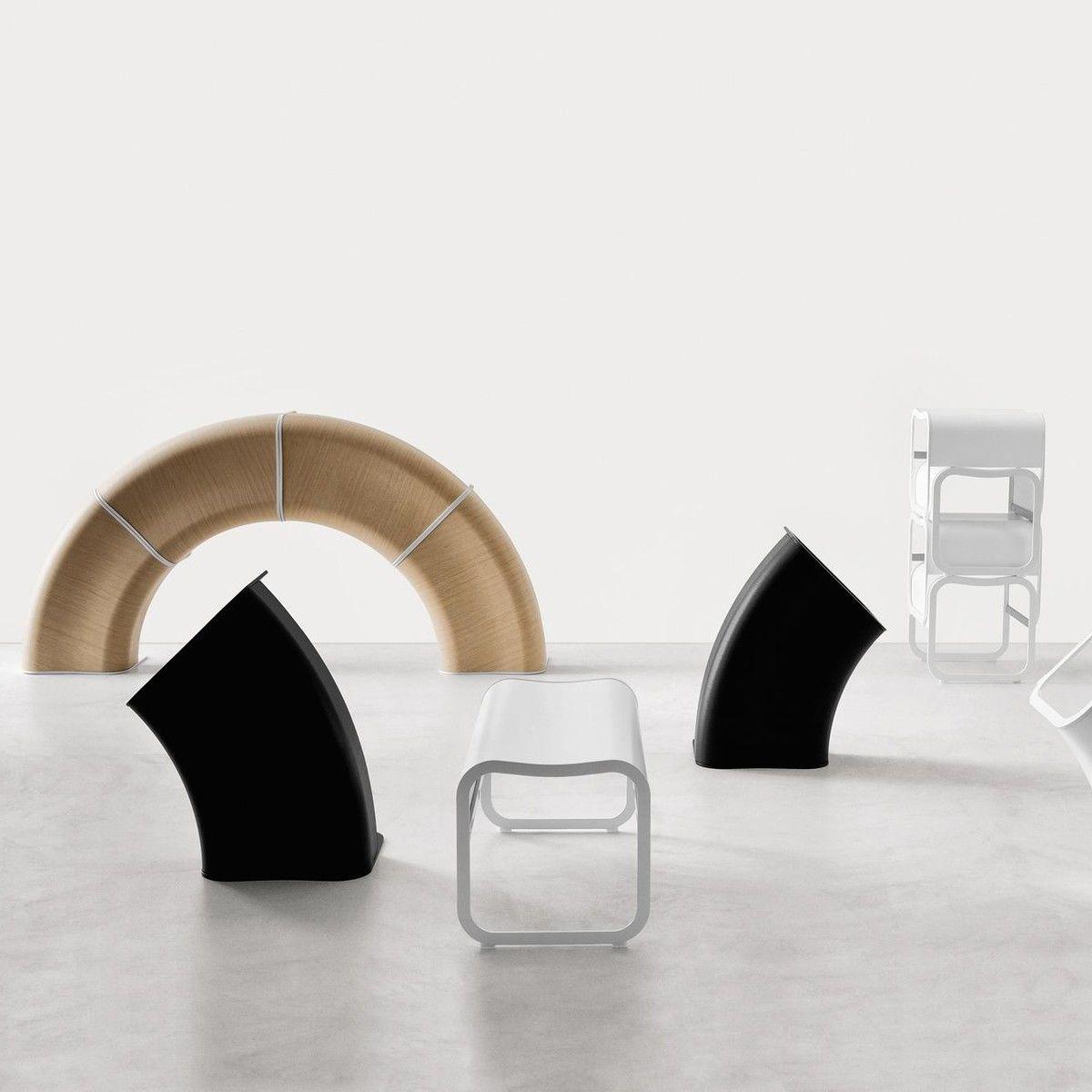 za 1 bank hocker stapelbar gestell schwarz la palma. Black Bedroom Furniture Sets. Home Design Ideas