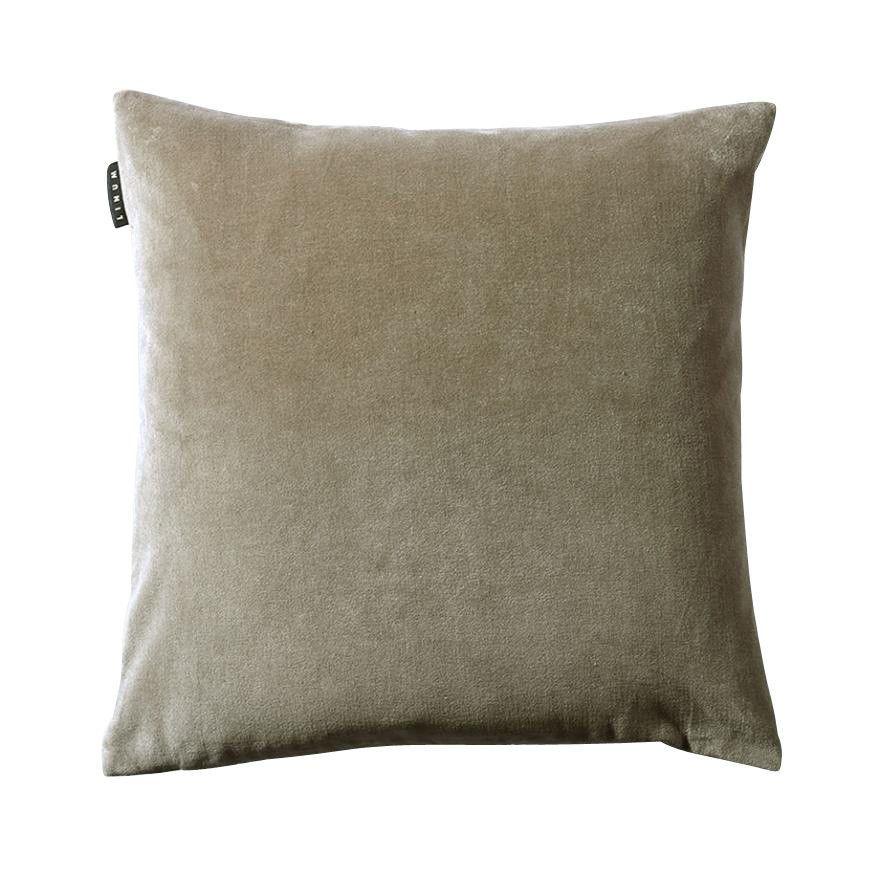 marcel coussin de canap velours 50x50cm linum. Black Bedroom Furniture Sets. Home Design Ideas