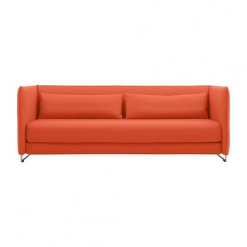 Softline Metro Sofa Bed Orange Fabrics
