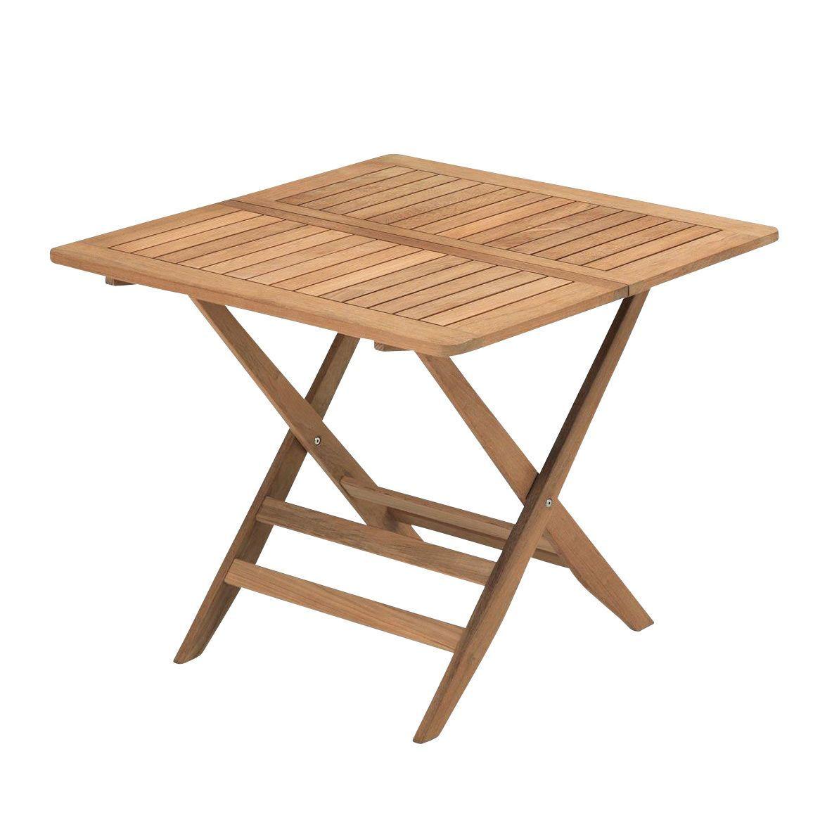 Nautic Folding Table 85x85cm Skagerak