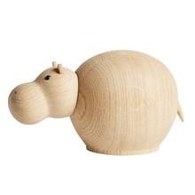 Woud - Hibo Hippopotamus - Figurine