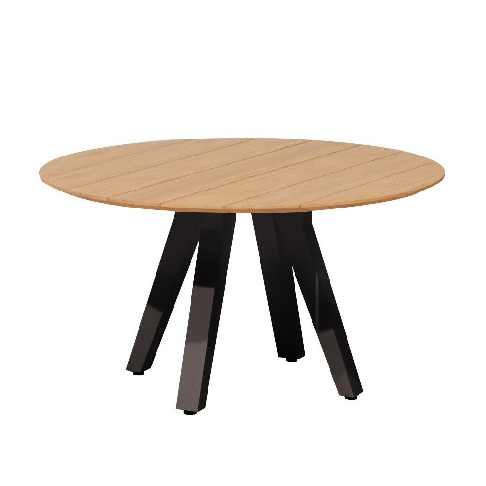 Kettal Vieques - Table de jardin ronde Ø135cm | AmbienteDirect