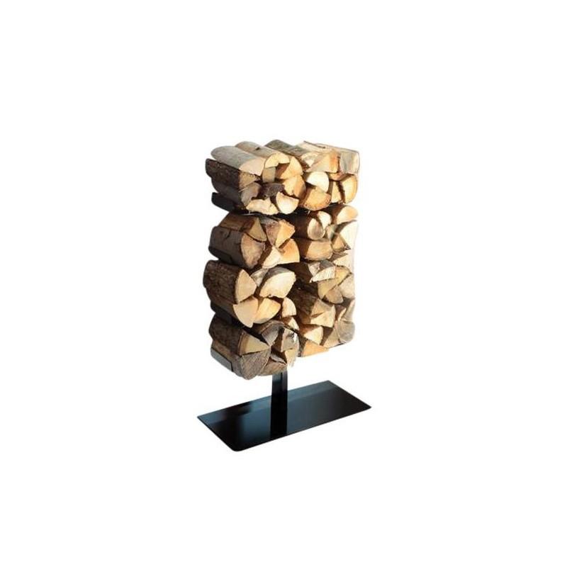 radius wooden tree firewood shelf ambientedirect. Black Bedroom Furniture Sets. Home Design Ideas
