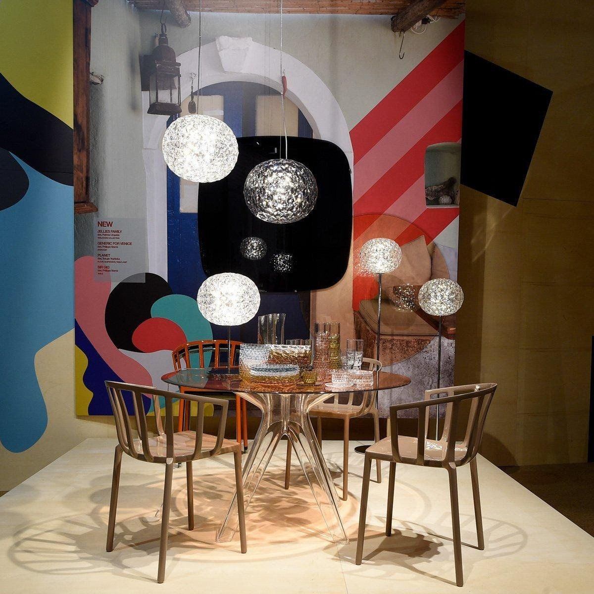Kartell Sir Gio Table Round Ambientedirect