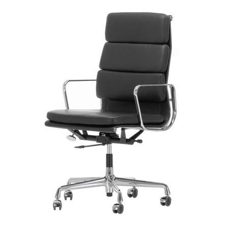 Eames Bureaustoel Vitra.Vitra Ea 219 Soft Pad Eames Chair Bureaustoel Ambientedirect