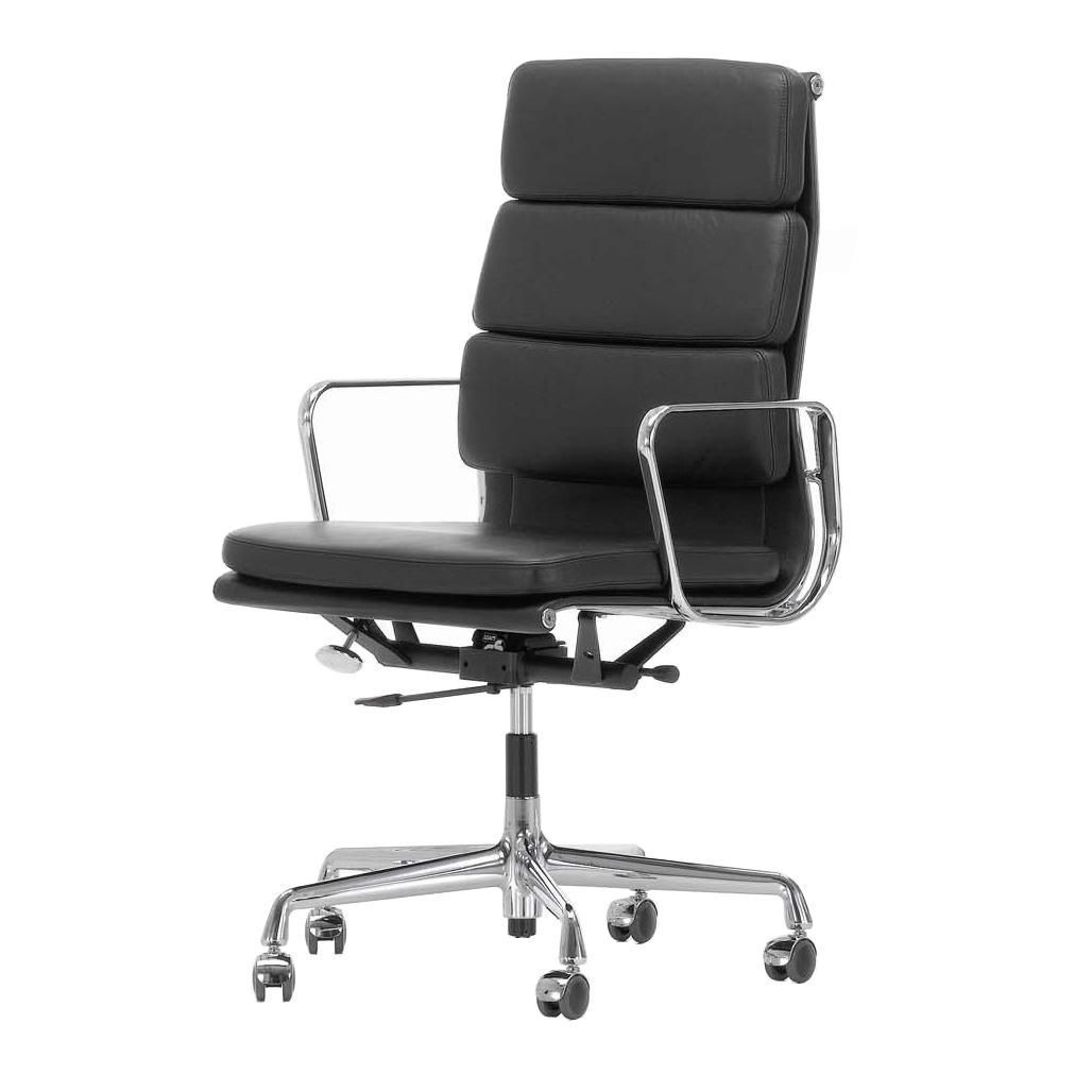 Ea 219 soft pad eames alu chair b rostuhl vitra for Vitra chair nachbau