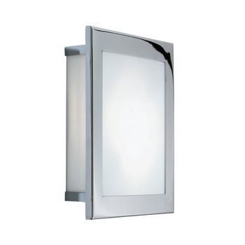 - Kubic 30 LED Wand-/Deckenleuchte - chrom/poliert/LxBxH 30x30x6.5cm/3000K/745lm