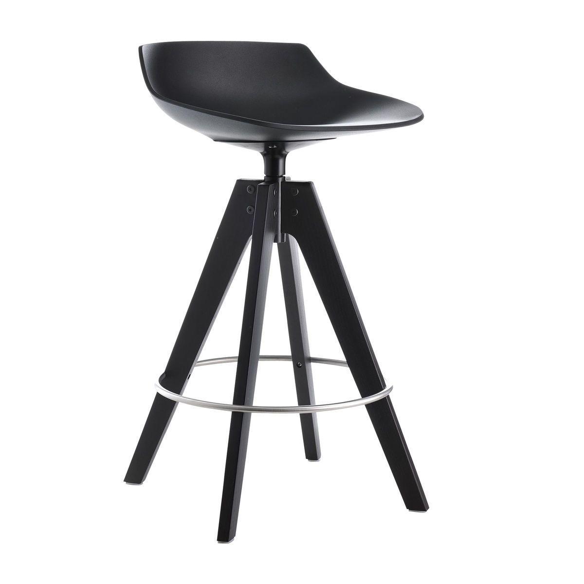 flow barhocker gestell eiche 65cm mdf italia barhocker. Black Bedroom Furniture Sets. Home Design Ideas