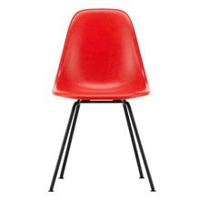 Vitra - Eames Fiberglass Side Chair DSX schwarz