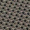 GAN - Garden Layers Small Gofre Kissen - grün/Handwebstuhl/LxB 45x45cm
