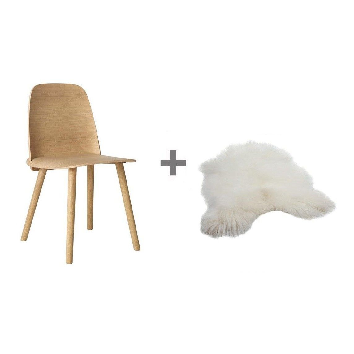 promotion set nerd chair fur muuto. Black Bedroom Furniture Sets. Home Design Ideas