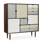 Andersen Furniture - S3 Highboard Fronts Multicolored