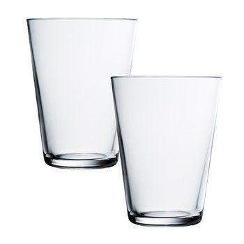 iittala - Kartio Longdrink Gläser-Set - transparent/40cl/2 Stück