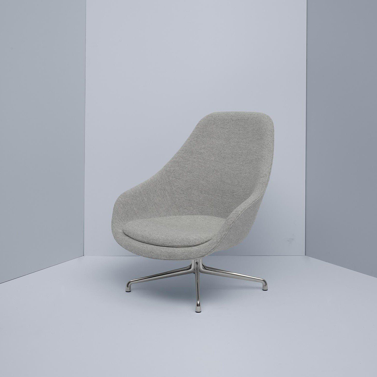 About A Lounge Chair Aal91 Swivel Chair Hay