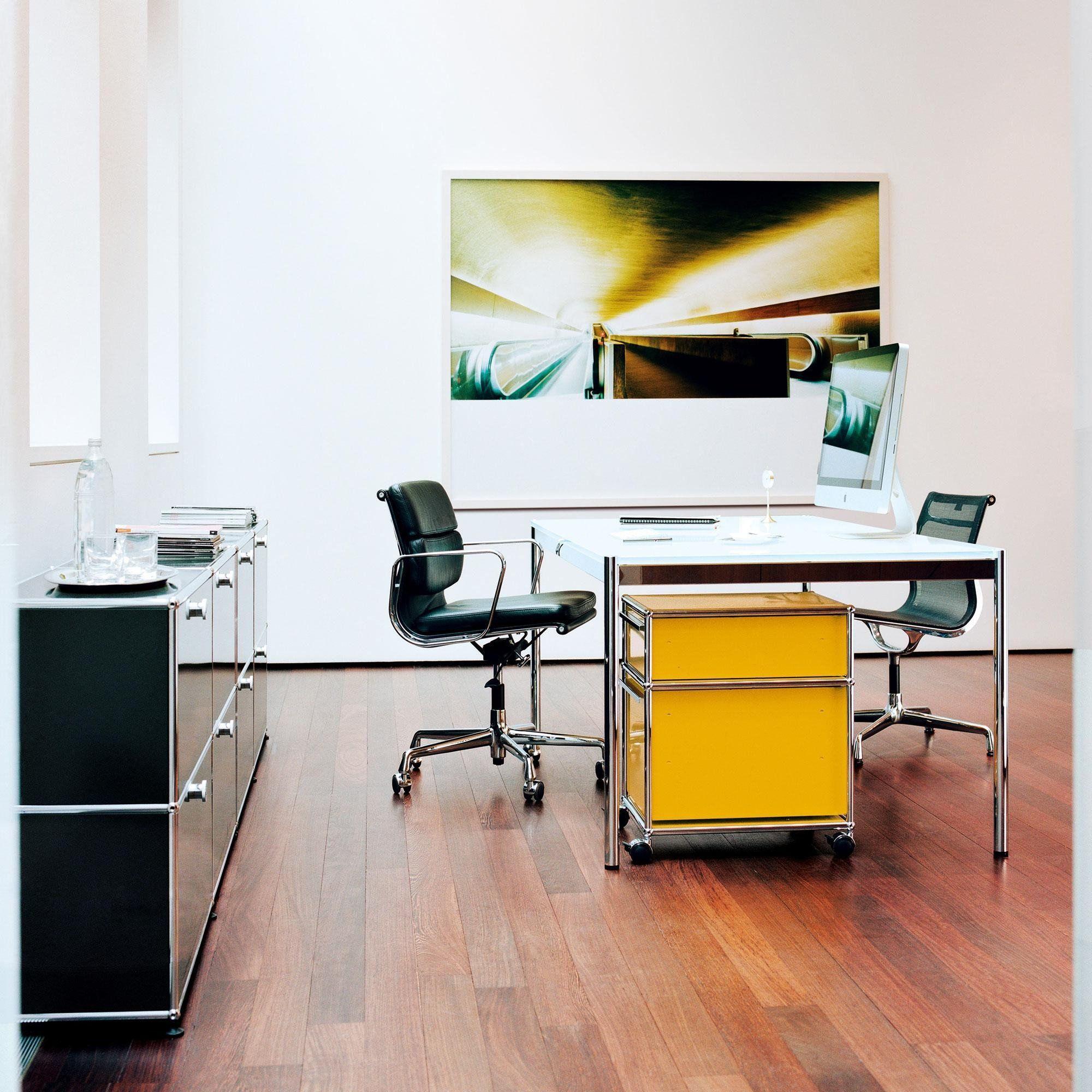 usm haller glass table 175x100cm usm haller. Black Bedroom Furniture Sets. Home Design Ideas